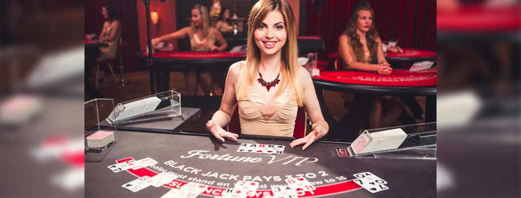 Live virtual casino