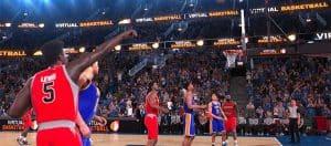 Virtual Basketball Game
