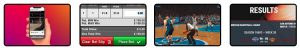Betting steps virtual basketball